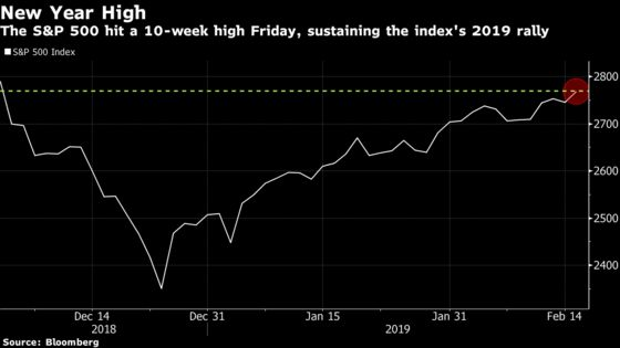 U.S. Stocks End Week Higher Boosted by Trade Talk: Markets Wrap