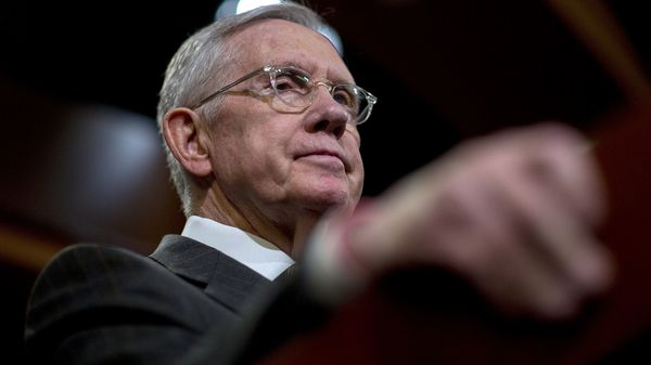 Harry Reid blasts Trump and Kelly