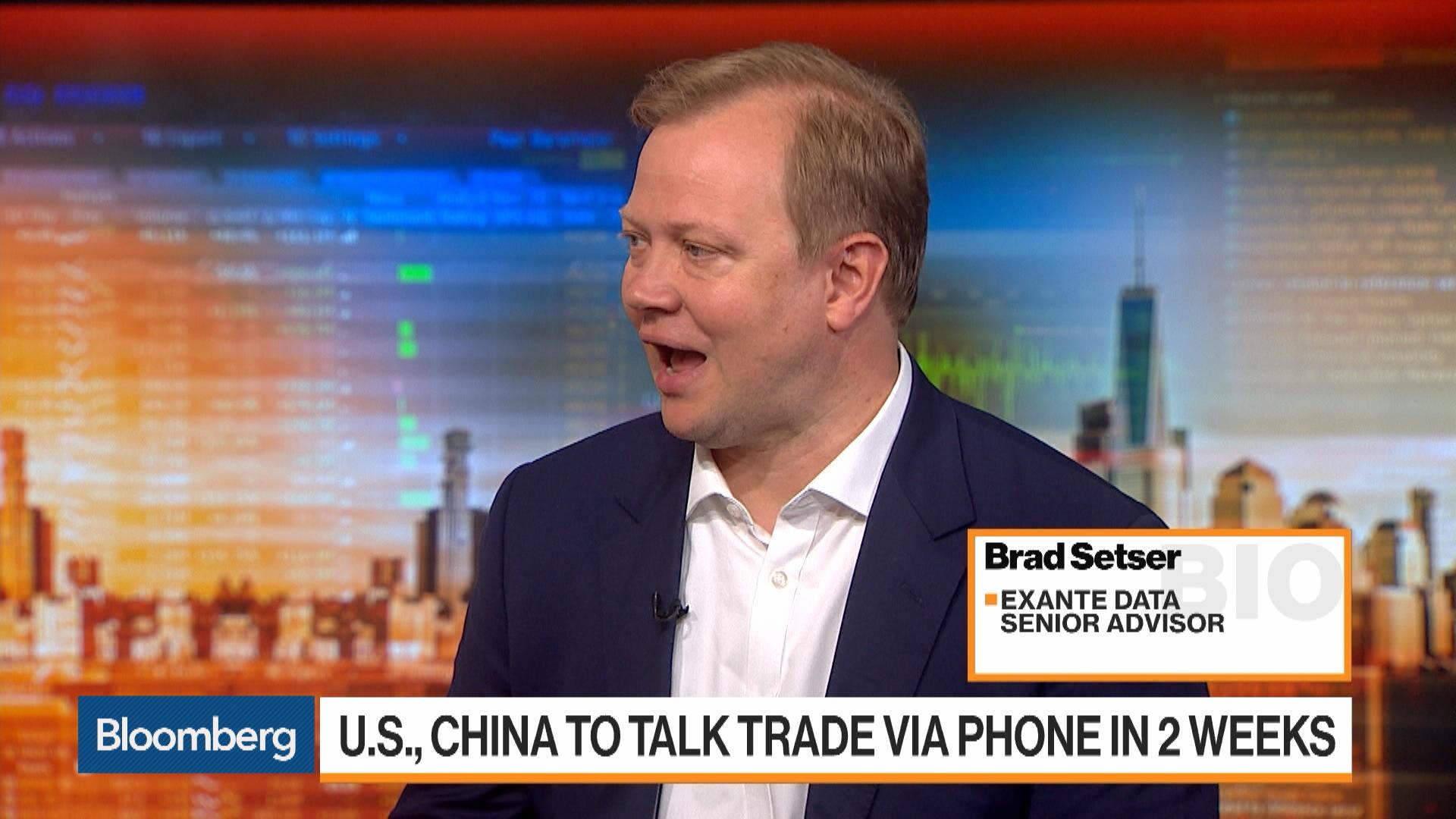 Trump Blinked With China Tariff Delay, Exante Data's Setser Says