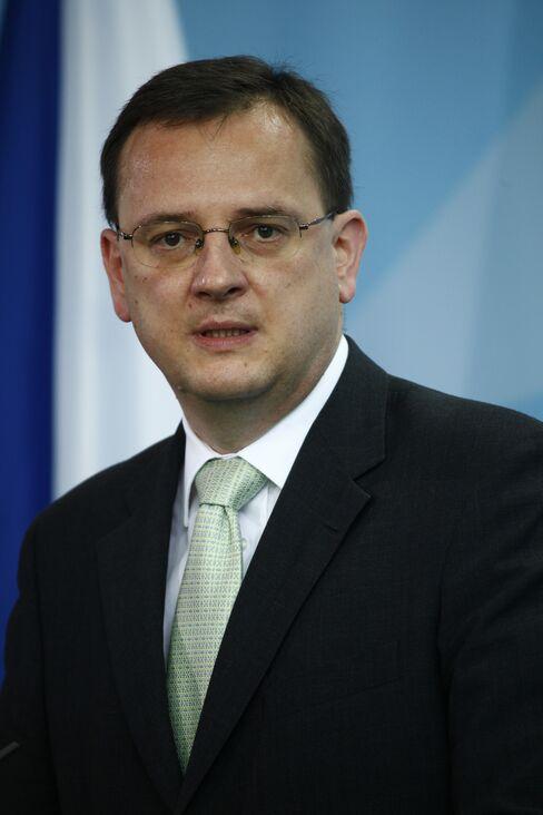 Czech Prime Minister Petr Necas