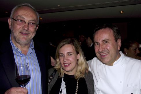 Pierre Koffmann, Helene Darroze and Daniel Boulud