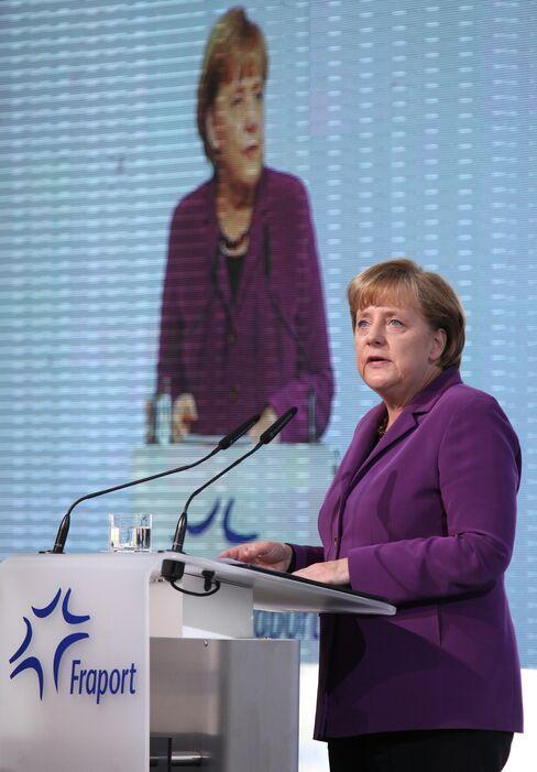 Banks Bow to 'Last Word' From Merkel on Greek Debt