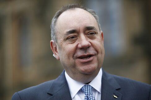 Scottish First Minister Alex Salmond