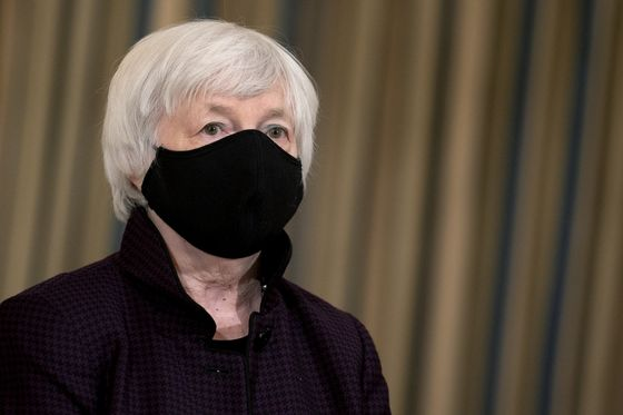 Yellen Takes 'Go Big' Message to G-7 to Aid Global Recovery