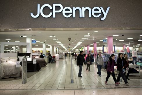 J.C. Penney First-Quarter Net Loss Widens After Johnson Leaves