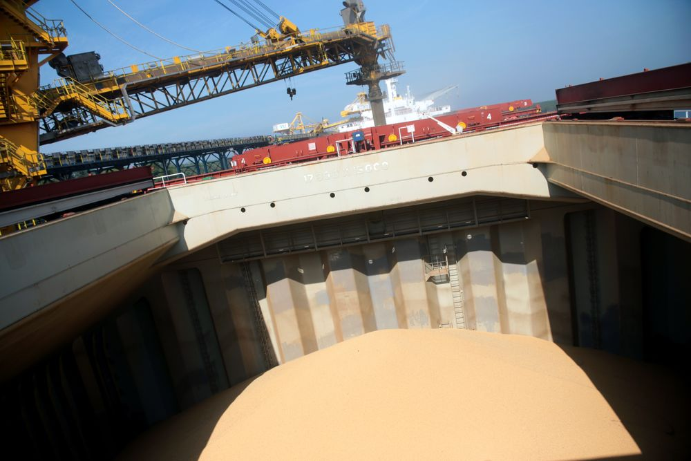 Chinas Food Giant Emerges As Leading Exporter Of Brazil Soy Bloomberg