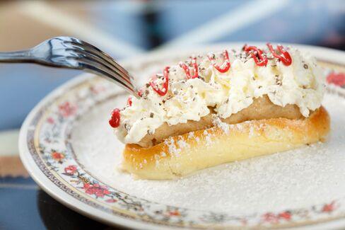 "The ""sweet dog"" dessert is very sweet."