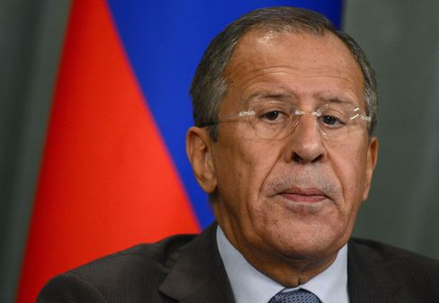 Russian Foreign Minister Sergei Lavrov Today