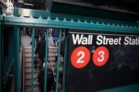markets wall street nyse subway