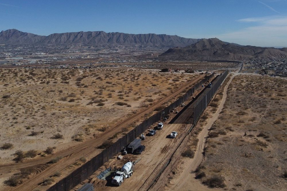 Biden will issue a proclamation ordering a stop to construciton of the wall along the Mexico border.