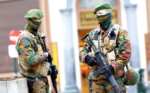 Two arrested in Brussels on suspicion of plotting New Year terror attack