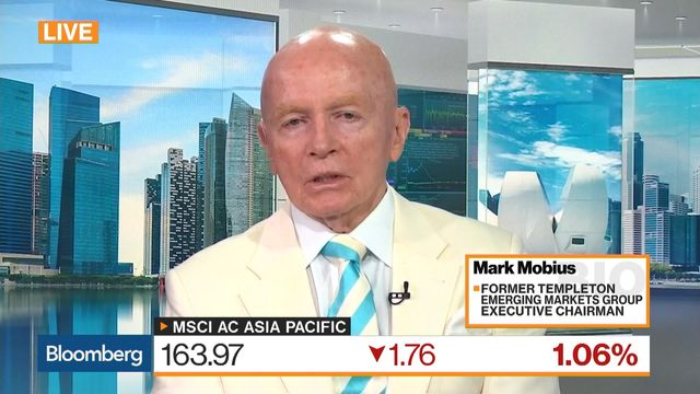 Mobius Says Trade War Is Just a Warm-Up Act for Financial Crisis
