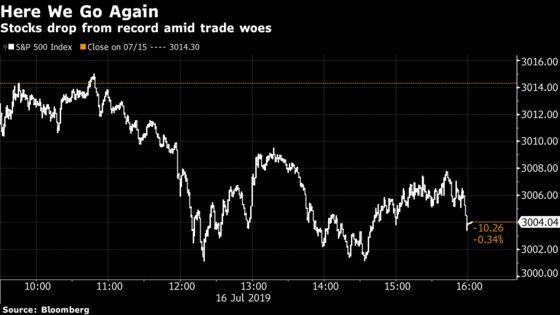 Stocks Drop on Trump's Trade Remarks; Bonds Fall: Markets Wrap