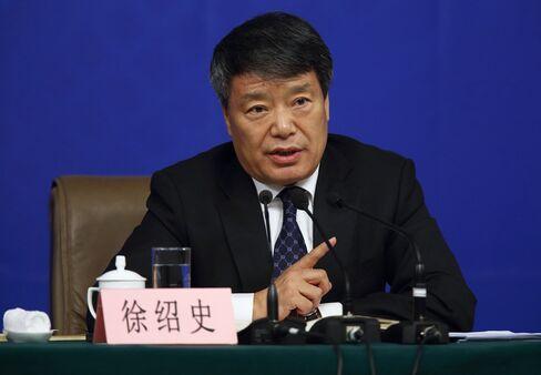 Xu Shaoshi, chairman of China's National Development and Reform Commission.