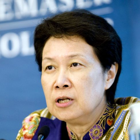 Ho Ching, chief executive officer of Temasek Holdings