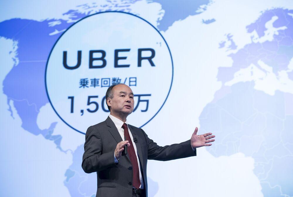 SoftBank's Masayoshi Son Has a $7.7 Billion Uber Ticket to Ride