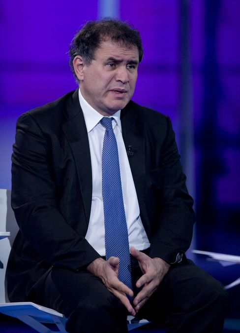Roubini Says Japan Earthquake Is Worst Thing at Worst Time