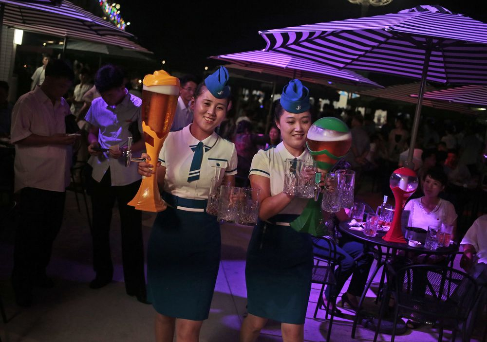 North Korea Just Unveiled a New Beer - And It's Minty - Bloomberg