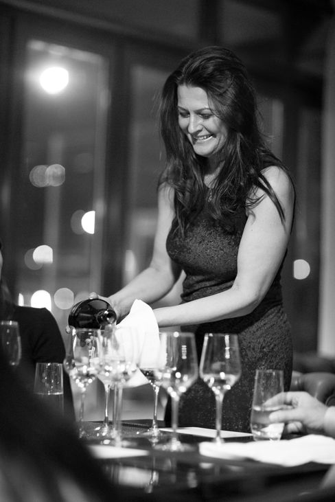 """Marika Vida (wine director, Ritz-Carlton, New York) on gender differences: """"I've had wonderful female somms and bad ones, wonderful male somms and bad ones—to me this is all about personality and not gender."""""""