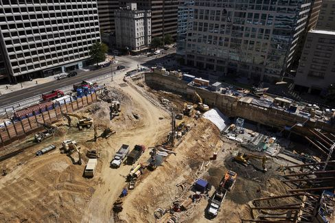 Fannie Mae headquarters under construction.