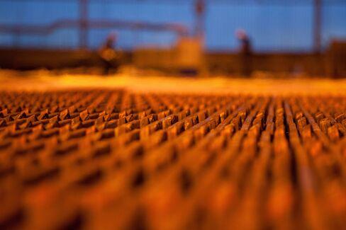 Copper Futures Fell 2.3 Percent Last Week in New York