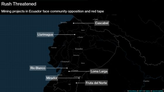 'Radical' Foes, Red Tape Hinder Ecuador's Quest to Become a Mining Superpower