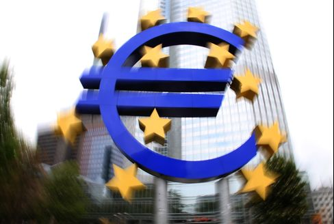 Euro Holds Gain Versus Peers on Bets ECB to Step Up Crisis Fight