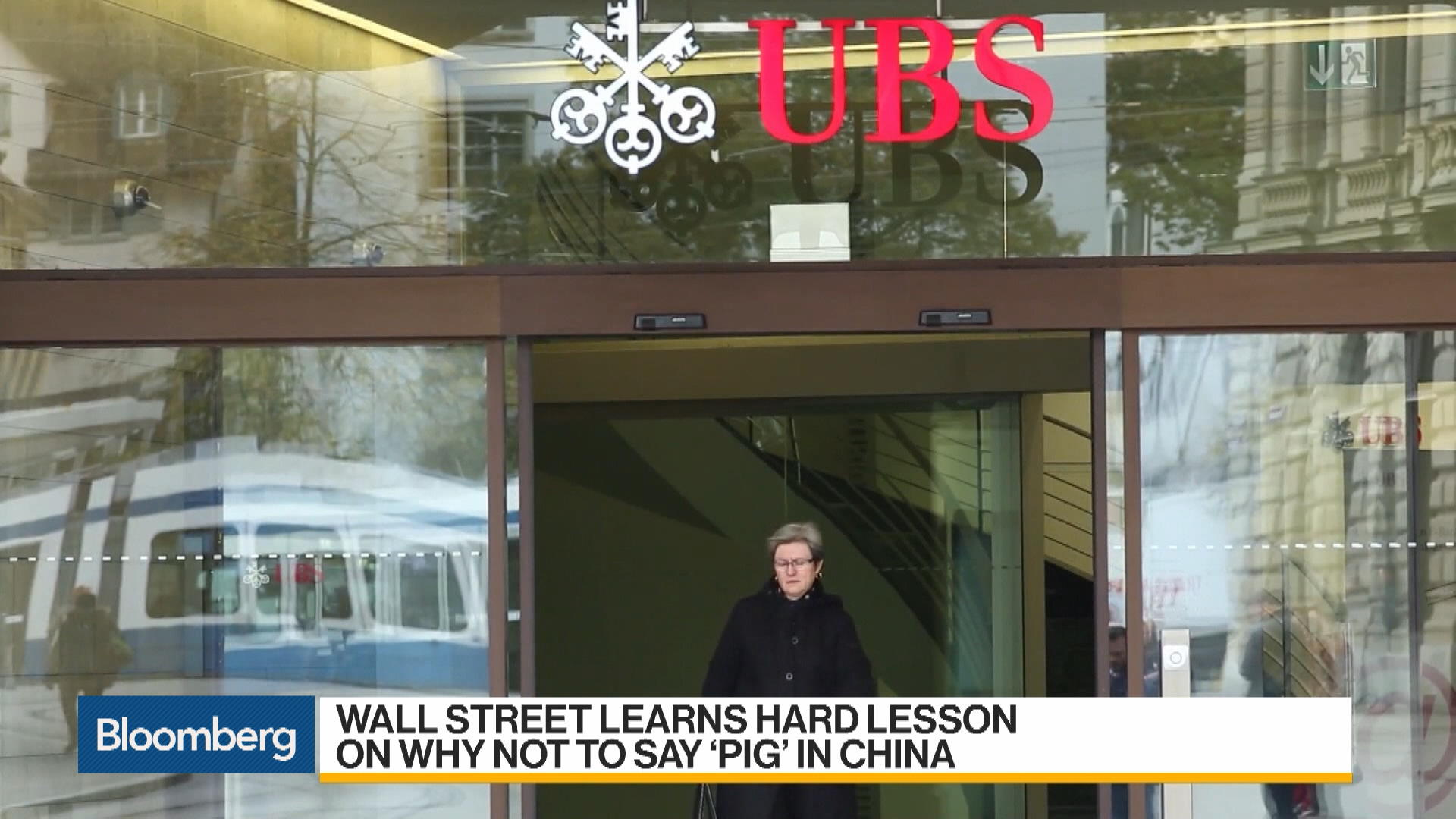 UBS Loses China Bond Deal After Economist's Pig Remark