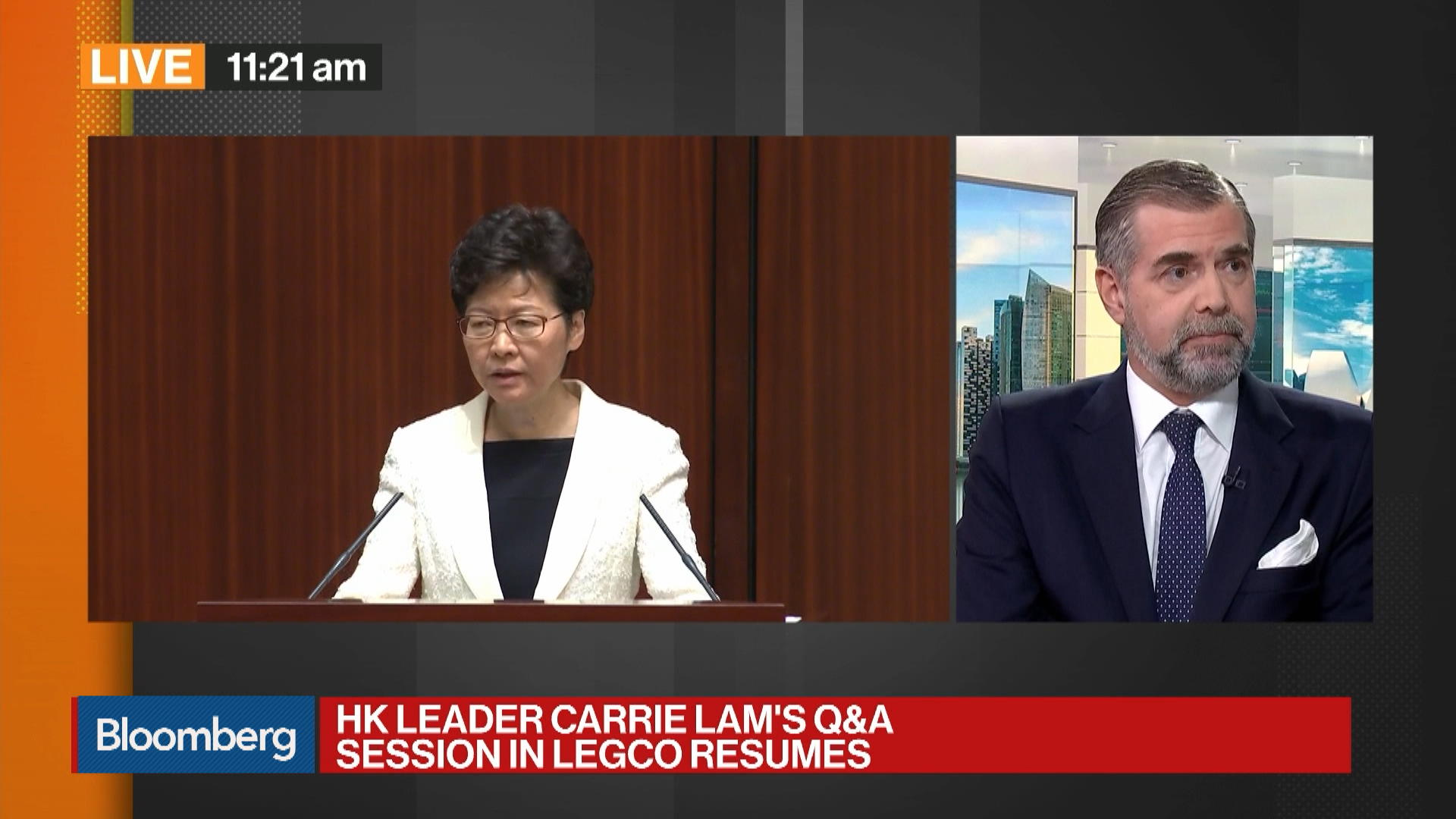 Bank Julius Baer Head of Asia Research Mark Matthews on U.S.-China Trade, HK Unrest, Recession Risk
