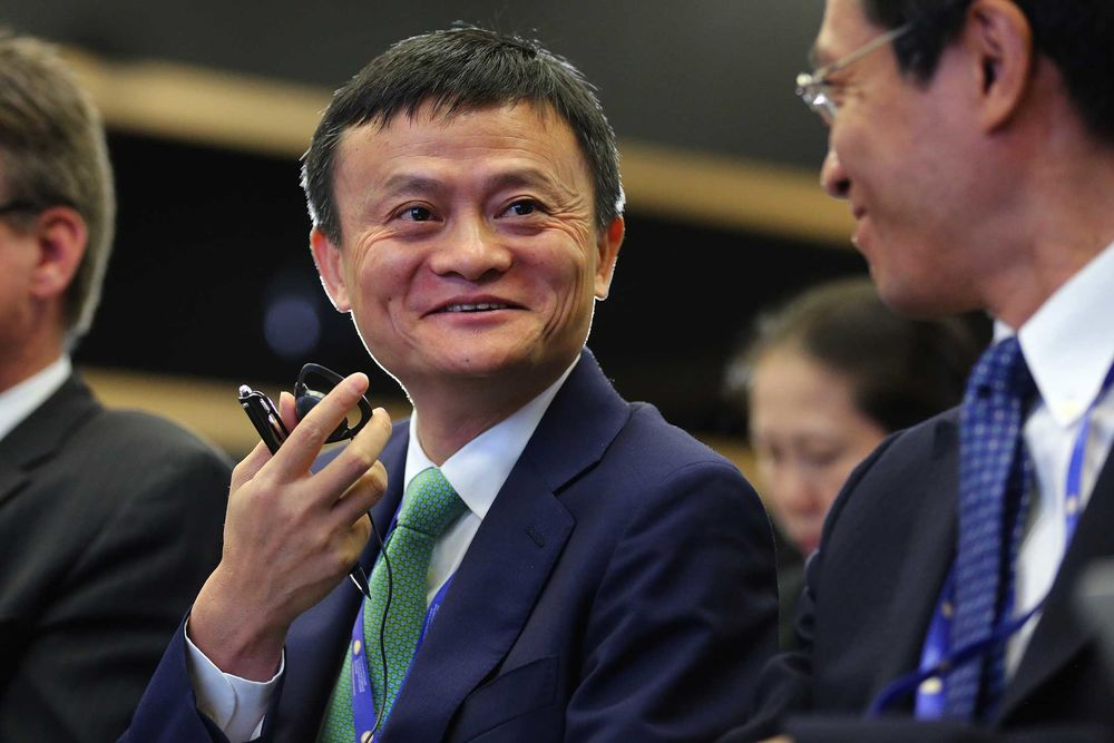 Alibaba S Jack Ma Gets 2 8 Billion Richer In One Day Bloomberg