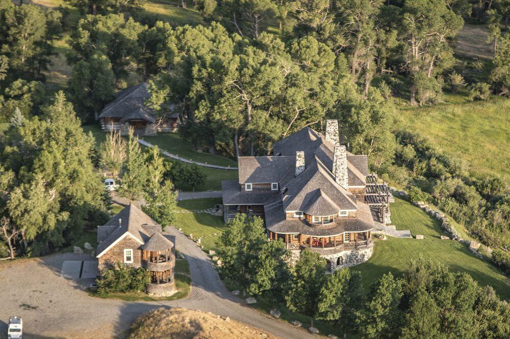 Robert Burch's Hobble Diamond Ranch, Montana Listed for $35