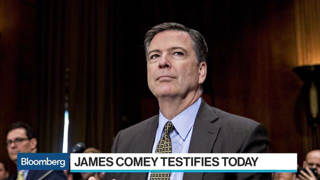 Former FBI Director James Comey Testifies
