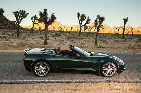 Chevrolet's Corvette has become a favorite choice for affluent senior citizens.