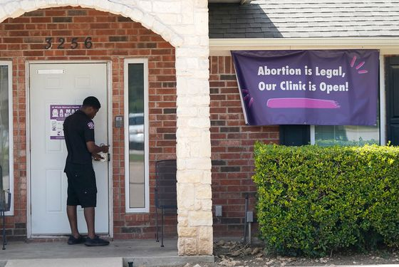 Abortion Largely Stops in Texas Amid Supreme Court Silence