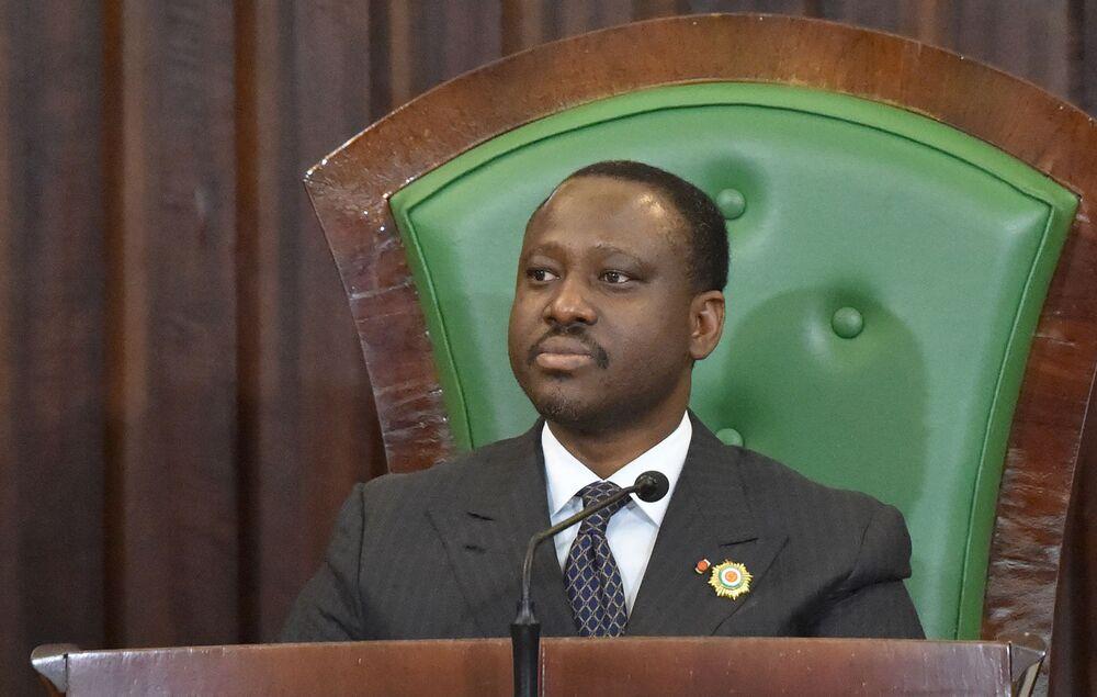 Ivory Coast Parliament Speaker Guillaume Soro Resigns