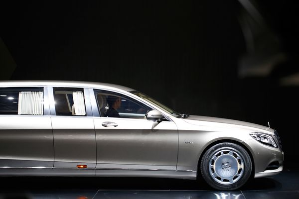 The Beauty And Logic Of The MillionDollar Car Bloomberg - 1 million mercedes coolest armoured vehicle ever
