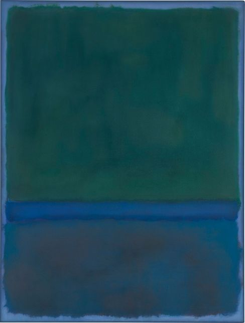 Rothko's No. 17 on the block.