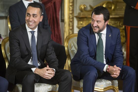 Salvini: In Sync With Five Star's Di Maio on Budget, Banks