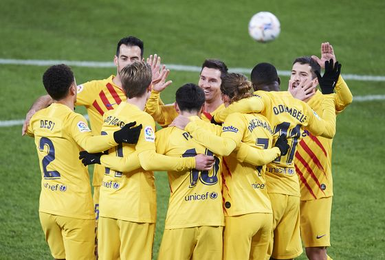Barcelona Keeps Top Spot in Soccer's Money League by a Hair