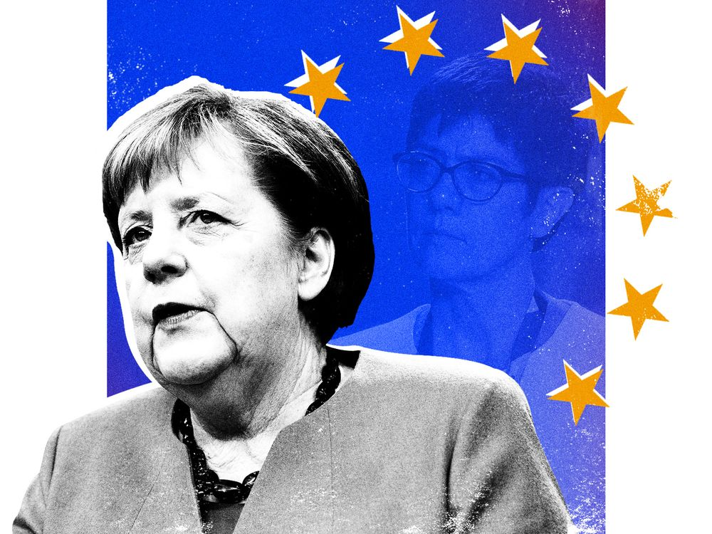 Merkel's Next Test Is Blue-Haired YouTuber: Postcard From Berlin