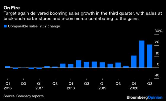 Target Crammed a Year's Worth of Growth Into a Quarter