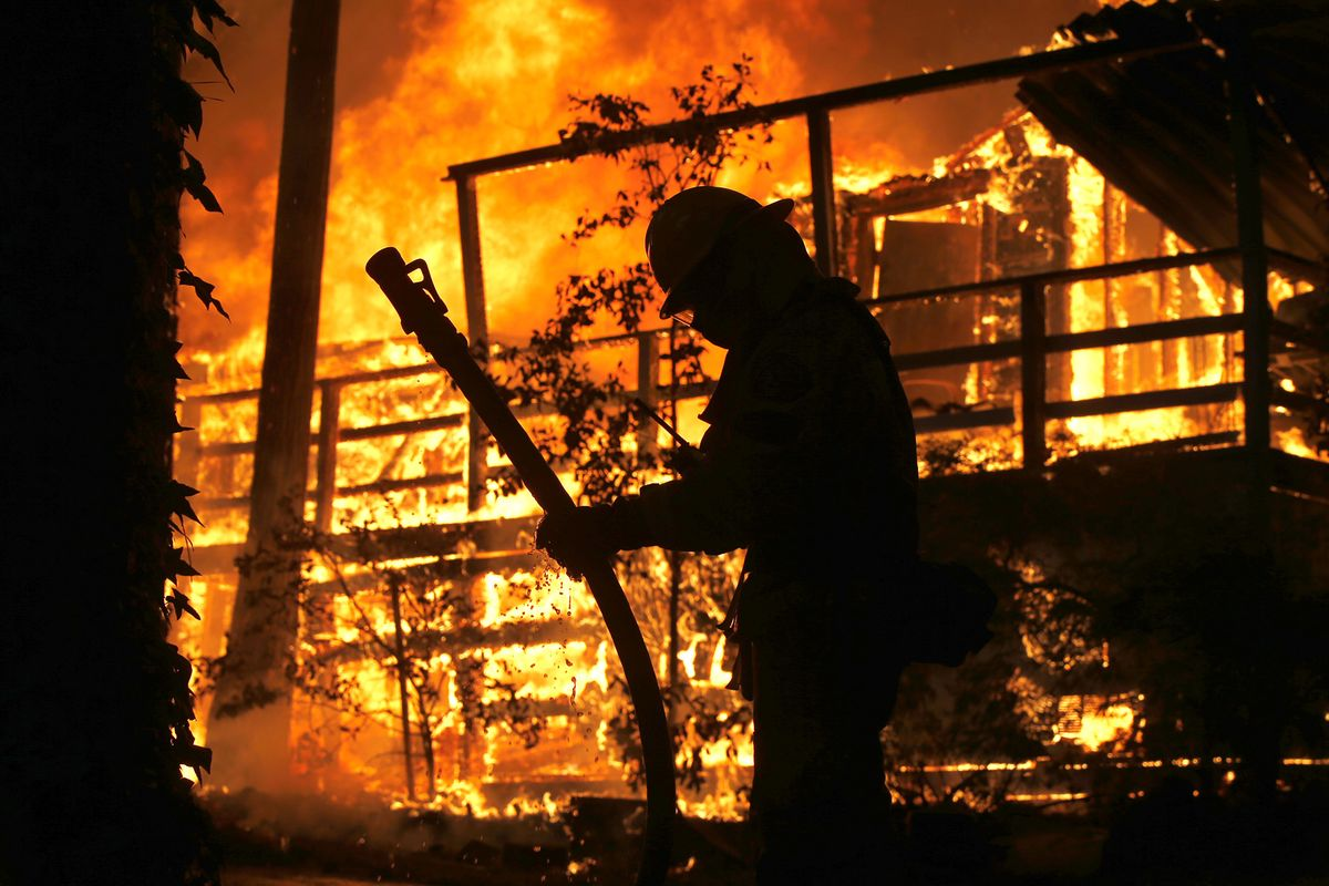 California Braces for Wildfire Danger as Santa Ana Winds Arrive