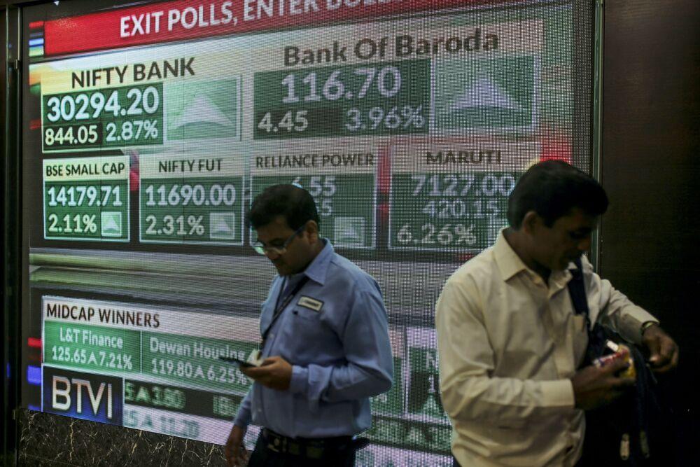 India's Sensex Advances Amid Optimism Modi Win Will Drive Growth