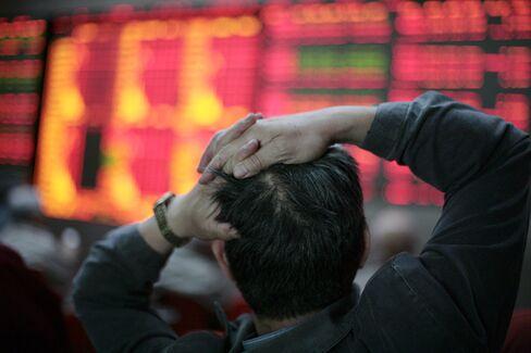 Asian Stocks Snap Six-Day on European Economic Slowdown Concerns