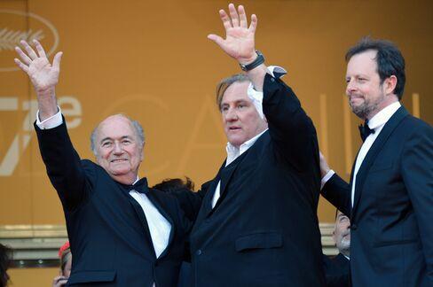Blatter And Depardieu