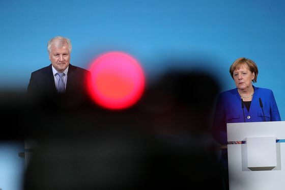 Merkel Fate Hangs in Balance as CSU Is Said to Set Ultimatum