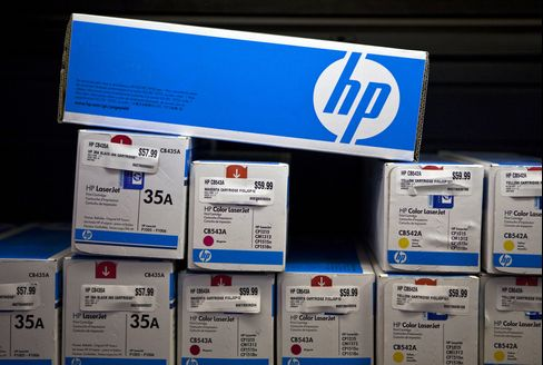 HP Breakup Looms on Cheapest Tech Valuation