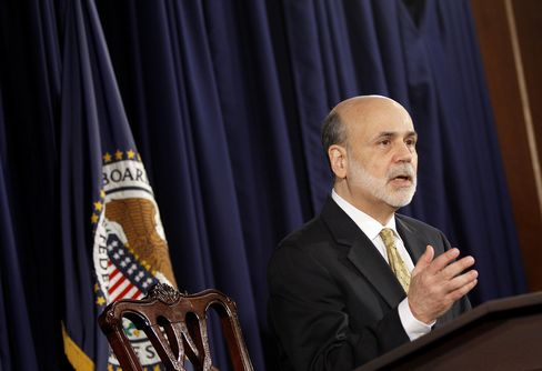 Bernanke Incomplete on Employment Prompts Fed to Shift Its Focus