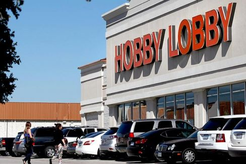 Hobby Lobby Is a Company. Is It a Person, Too?