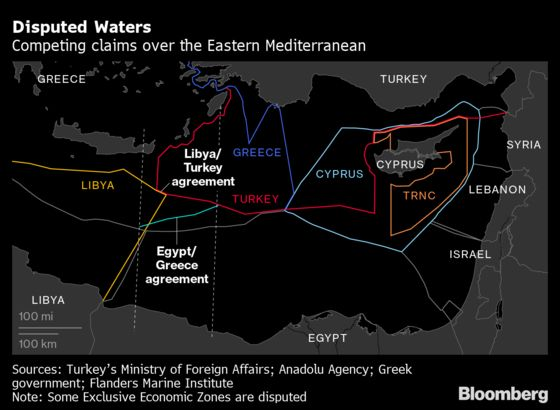 Turkey Seeks to Sideline EU in Maritime Disputes With Greece